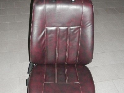 Оригинальные модельные чехлы на сидения для автомобиля Mitsubishi Lancer X 2007-н.в. (материал: твид, кожзам; любые тона)