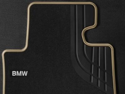 Велюровые коврики Modern Line для BMW F32 4-серия, передние (BMW) (Original)