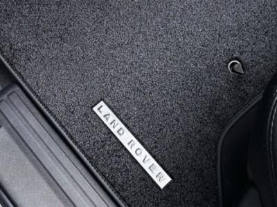 Комплект текстильных ковриков класса премиум, цвет Ebony для Land Rover Discovery IV, 2009-2016, (оригинал) (Land Rover)
