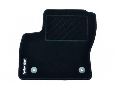 Комплект велюровых ножных ковриков для Ford Kuga, 2012- н.в. (Ford) (Original)