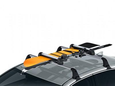 Крепление для лыж или сноуборда, 4 пары, тип крепления Т-слот для Lexus NX 2014-н.в., (оригинал) (Lexus)