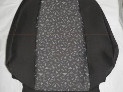 Оригинальные модельные чехлы на сидения для автомобиля Peugeot  307 хэтчбек/ универсал 2001-н.в. (материал: твид, кожзам; любые тона)