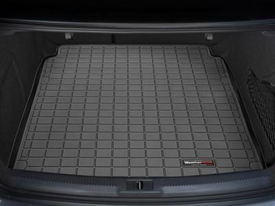 Коврик в багажник Weathertech (USA) для Audi A4 (sedan), 2007-2015, (цвет: чёрный)