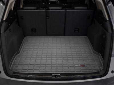 Коврик в багажник Weathertech (USA) для Audi Q5 (no Hybrid), 2008-2016, (цвет: чёрный, серый, какао и бежевый)
