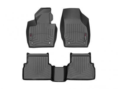 Коврики в салон 3D Weathertech (USA) для Audi Q3, 2014-н.в., (комплект; передние; задние)