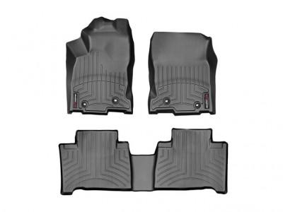 Коврики в салон 3D WeatherTech для автомобиля Lexus NX 2014-н.в., комплект: 3 шт.
