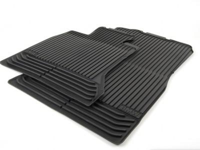 Резиновые ножные коврики для BMW F10 5-серия, 2009-2016, передние (BMW) (Original)