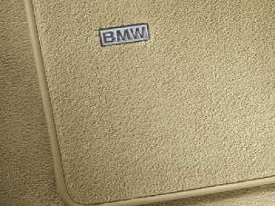 Велюровые ножные коврики для BMW F10 5-серия, 2009-2016, 4 шт. (BMW) (Original)