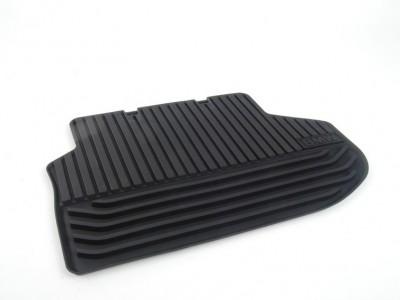 Резиновые ножные коврики для BMW F10 5-серия, 2009-2016, задние (BMW) (Original)