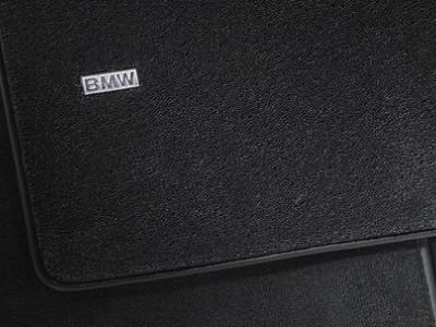 Комплект велюровых ножных ковриков BMW F10 5-серия, X-Drive, 2009-2016, 4 шт. (BMW) (Original)