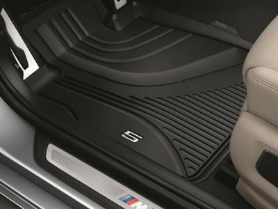 Передние ножные коврики для BMW G30 5-серия, 2016- н.в., (BMW) (Original)