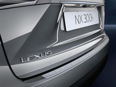 Накладка на задний бампер для Lexus NX, 2014-н.в., (оригинал) (Lexus)