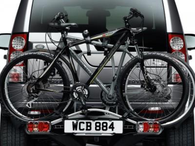 Устройство для перевозки двух велосипедов для Land Rover Discovery IV, 2009-2016, (оригинал) (Land Rover)