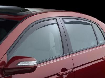 Дефлекторы окон (Weathertech) (USA) для Acura TL, 2003-2008, (передние, задние; светлые, тёмные)