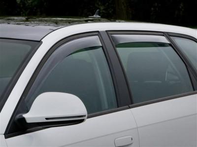 Дефлекторы окон (Weathertech) (USA) для Audi A3, hatchback 5D, 2004-2013, (передние, задние; светлые, тёмные)