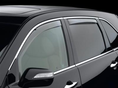 Дефлекторы окон (Weathertech) (USA) для Acura MDX, 2006-2010, (передние, задние; светлые, тёмные, прозрачные)