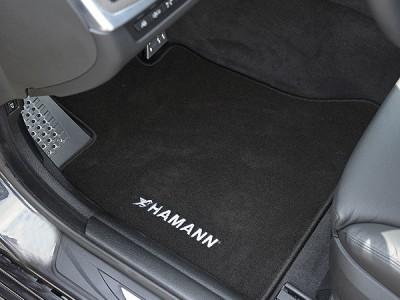 Комплект салонных ковриков для BMW F10/F11 5-серия, 2009-2016, 4 шт. (BMW) (Original)