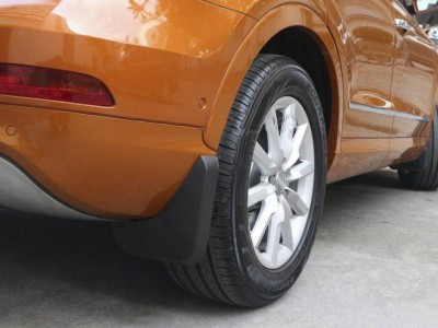 Брызговики задние для Audi Q3 2011- н.в., 2 шт. (оригинал) (VAG)