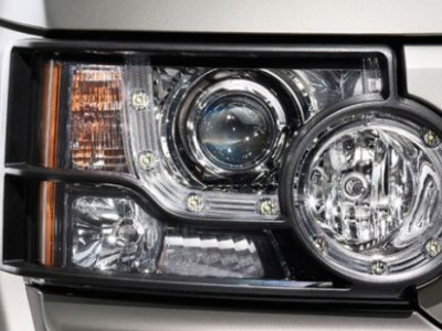 Штатная защита задних передних фар для Land Rover Discovery IV, 2009-2016, (оригинал) (Land Rover)