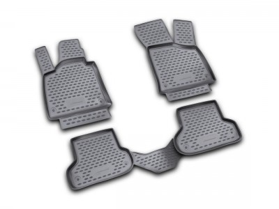 Коврики в салон для Audi A3 2003-2013, 4 шт. (полиуретан) Novline