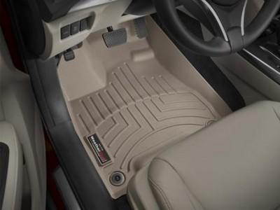 Коврики в салон 3D WeatherTech для автомобиля Acura MDX 2013-н.в., комплект: 3 шт.