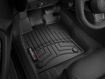 Коврики в салон 3D WeatherTech для автомобиля Audi A3 Sportback e-tron, 2016-н.в. , комплект:4 шт.