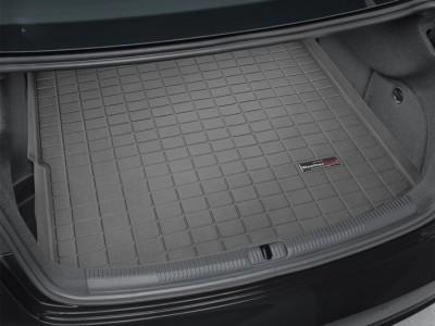 Коврик в багажник Weathertech (USA) для Audi A3 sedan Quattro, 2016-н.в., (цвет: черный)