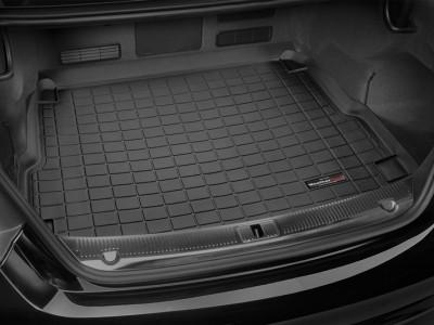 Коврик в багажник Weathertech (USA) для Audi A8, 2010-2014, (no turbodisel), (цвет: черный)