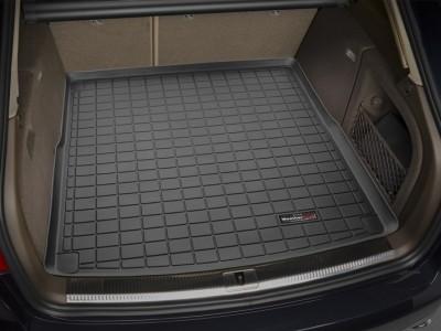 Коврик в багажник Weathertech (USA) для Audi A4 (avant), 2008-2015, (цвет: чёрный, серый, какао и бежевый)