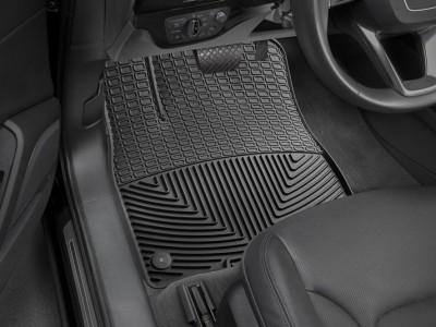 Коврики резиновые Weathertech (USA) в салон для Audi Q7, 2015-н.в. (передние; чёрные, серые, бежевые и какао))