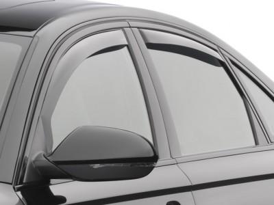 Дефлекторы окон (Weathertech) (USA) для Audi A6 Sedan, 2011-н.в., (передние, задние; светлые, тёмные)