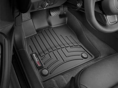 Коврики в салон 3D WeatherTech для автомобиля Audi A3 convertible, 2016-н.в. , комплект:4 шт.