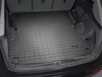 Коврик в багажник Weathertech (USA) для Audi Q7, 2015-н.в., (длинный, короткий; цвет: черный, серый, бежевый и какао)