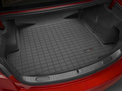 Коврик в багажник Weathertech (USA) для Audi A4 (sedan) (quatro), 2000-2008, (цвет: чёрный)