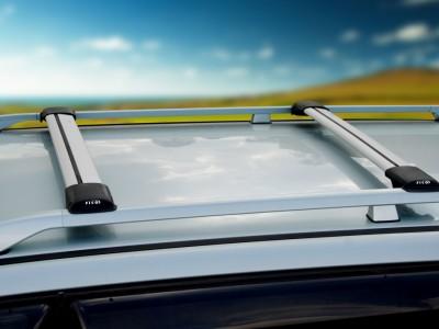 Багажники FICOPRO (Россия) (поперечены) под установку на продольные рейлинги.(80-120 см.) Цвет: чёрный, серебро.