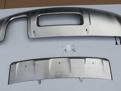 Накладки на задний и передний бампер (OEM) (Китай) для Audi Q3 2011- н.в.