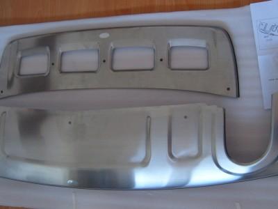 Накладки на задний и передний бампер (OEM) (Китай) для Audi Q5 2008-2016