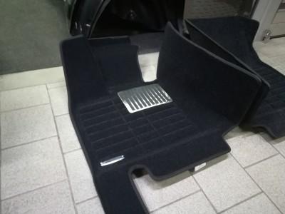 Коврики 5D Pradar для BMW X5 F15 2013-н.в., чёрные