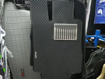 Коврики в салон EVA (Avtocover) для Mercedes S-Klasse, W220,  4Matic, Standart Base,1998-2005, (цвет: чёрный, серый и бежевый)