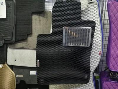 Коврики в салон EVA (Avtocover) для Honda Civic, sedan, (america), 2011-->, 4 шт., (цвет: чёрный, серый и бежевый)