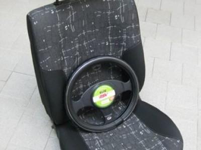 Оригинальные модельные чехлы на сидения для автомобиля Opel Omega B седан/ универсал 1994-2003 (материал: твид, кожзам; любые тона)