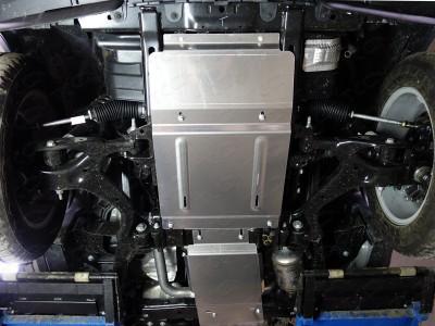 Защита картера (TCC) для Land Rover Discovery IV, 2009-2016, (алюминий) 4 мм