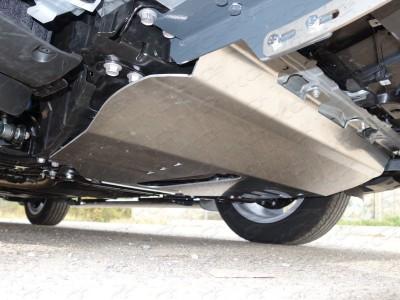 Защита картера (TCC) для Lexus NX, 2014-н.в., (алюминий) 4 мм