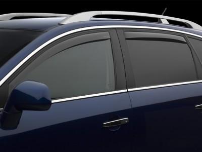 Дефлекторы окон (Weathertech) (USA) для Acura SLX, 1997-1999, (передние, задние; светлые)