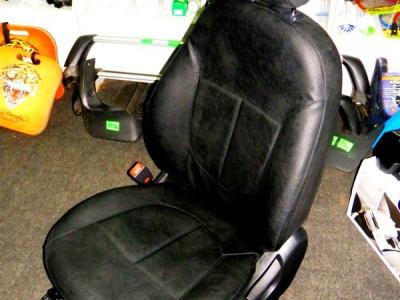 Оригинальные модельные чехлы на сидения для автомобиля Scoda Octavia A5 2004-2013 (материал: твид, кожзам; любые тона)