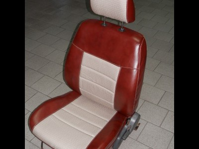 Оригинальные модельные чехлы на сидения для автомобиля Mazda 626 седан/ хэтчбек 1998-2003 (материал: твид, кожзам; любые тона)