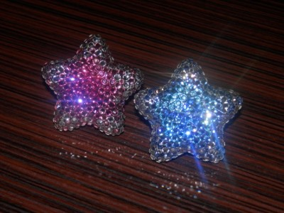 Ароматизатор-звезда с кристаллами Swarovsky
