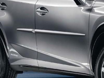 Комплект молдингов под покраску для Lexus NX, 2014-н.в., (оригинал) (Lexus)
