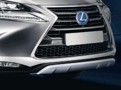 Защита переднего бампера для Lexus NX, 2014-н.в., (оригинал) (Lexus)