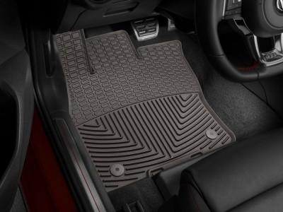 Коврики резиновые Weathertech (USA) в салон для Audi A3 (передние), 2016-н.в.